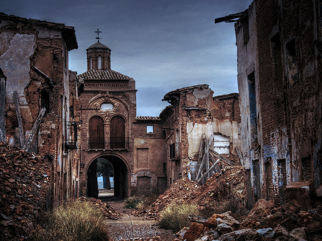 Belchite courtesy of Estrella de Queso